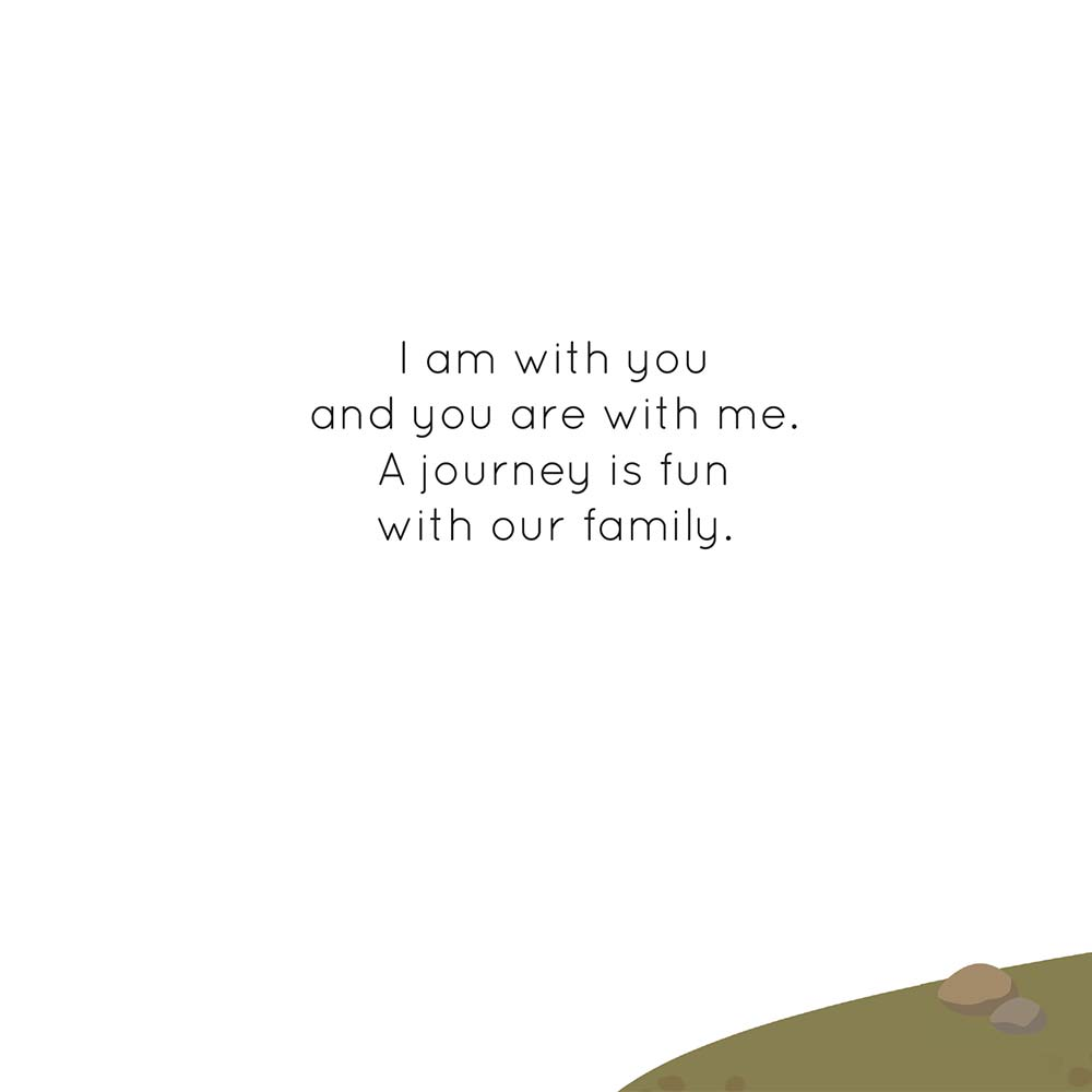 Children's Picture Book Illustration Walking Together - page 3