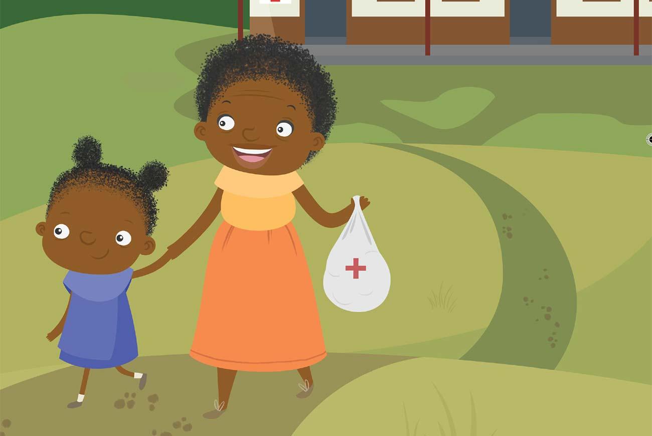 Children's Picture Book Illustration Walking Together header