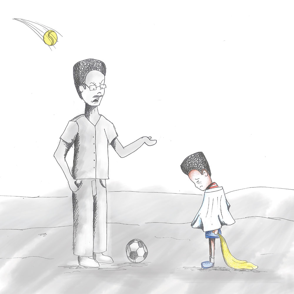 Free Kids Picture Book Sima and Siza page 15