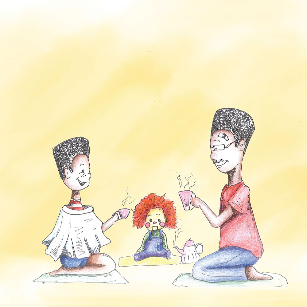 Free Kids Picture Book Sima and Siza page 23