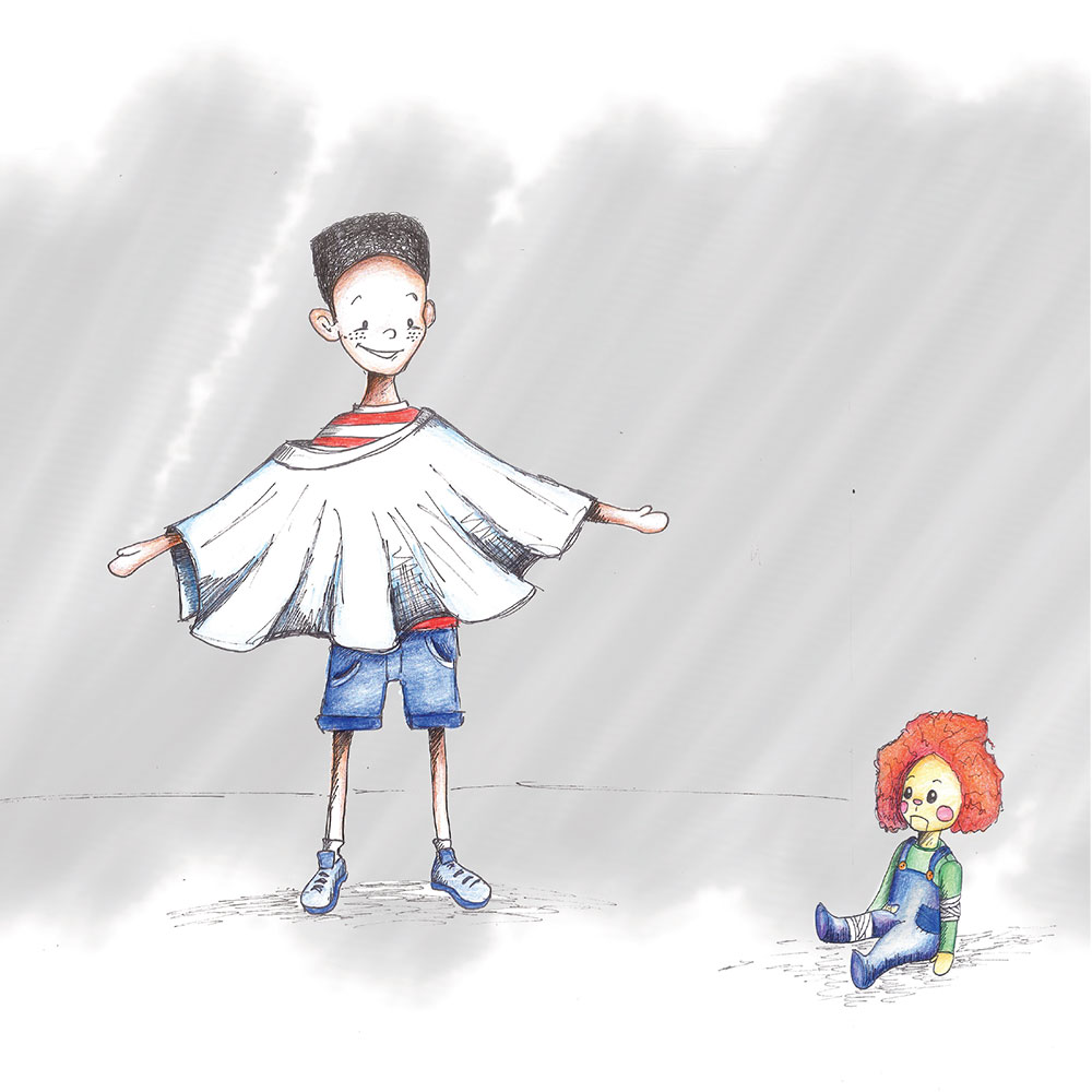 Free Kids Picture Book Sima and Siza page 3