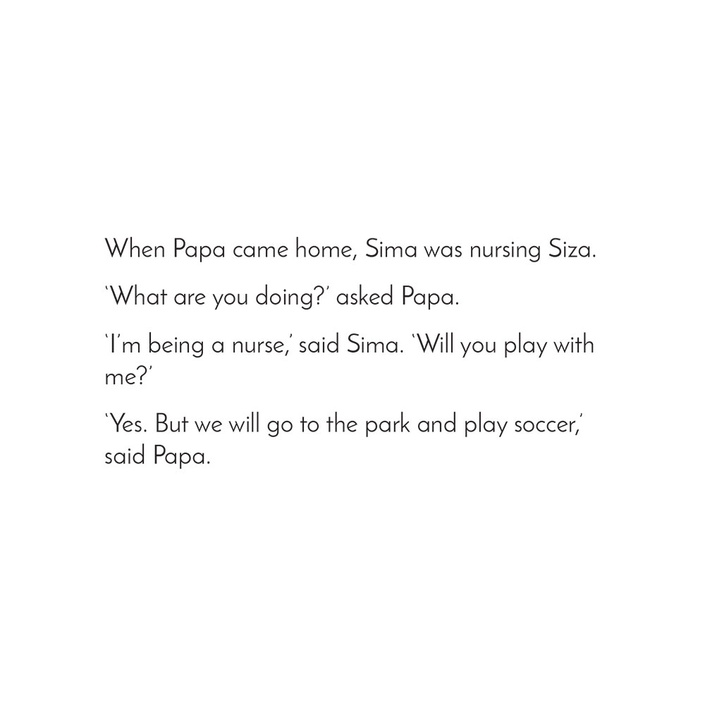 Free Kids Picture Book Sima and Siza page 9