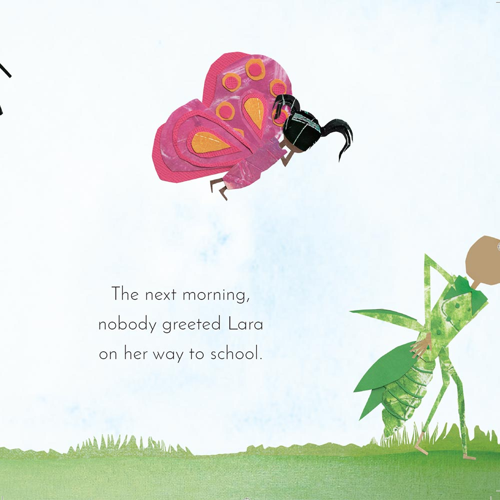 Free Kids Book Lara the Yellow Ladybird p12