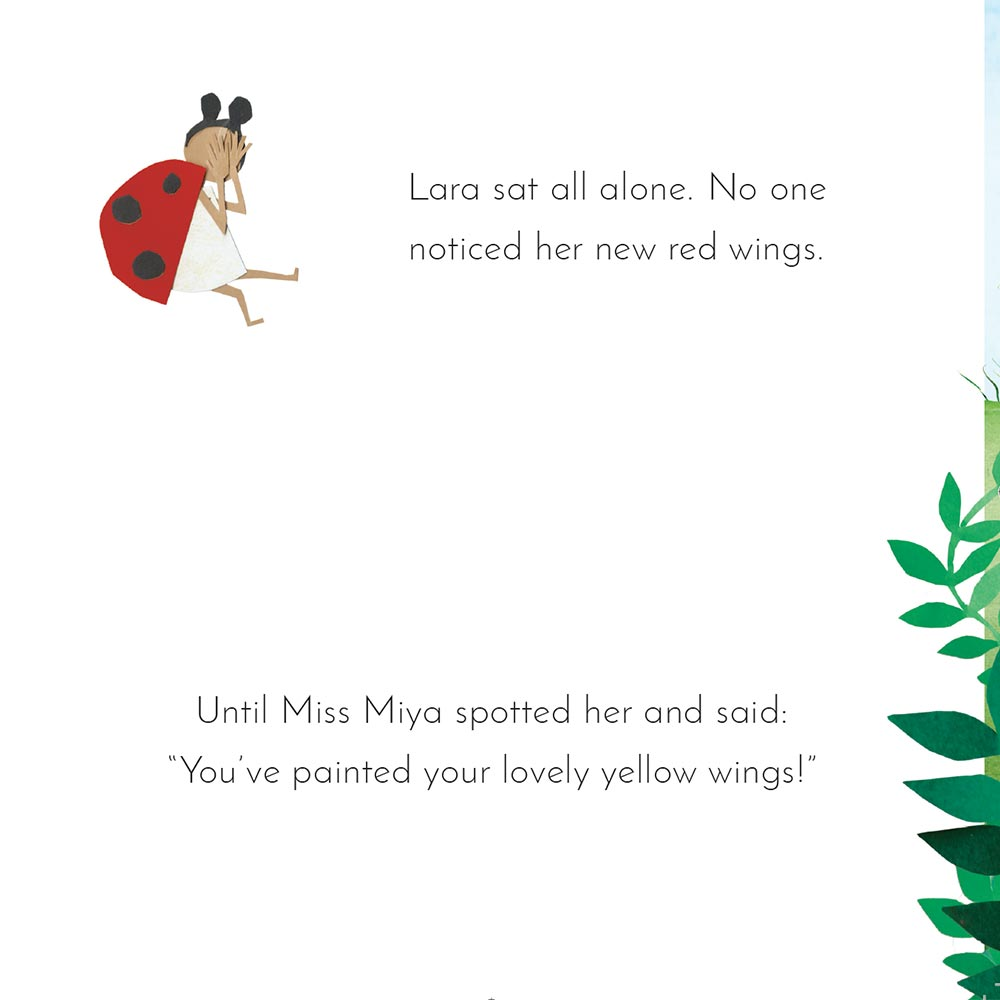 Free Kids Book Lara the Yellow Ladybird p16