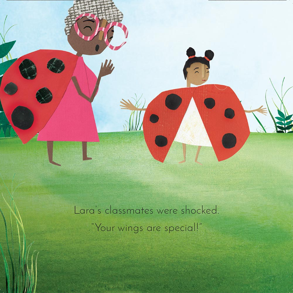 Free Kids Book Lara the Yellow Ladybird p18