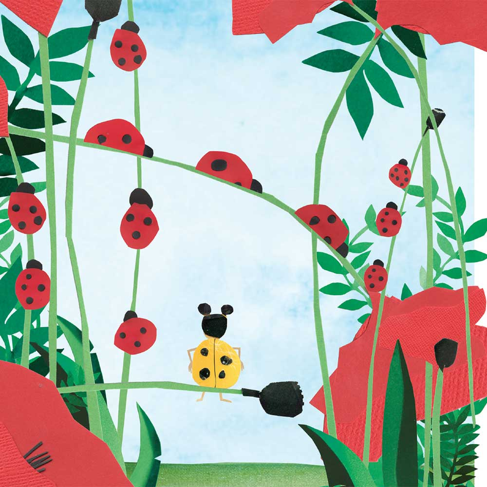 Free Kids Book Lara the Yellow Ladybird p2