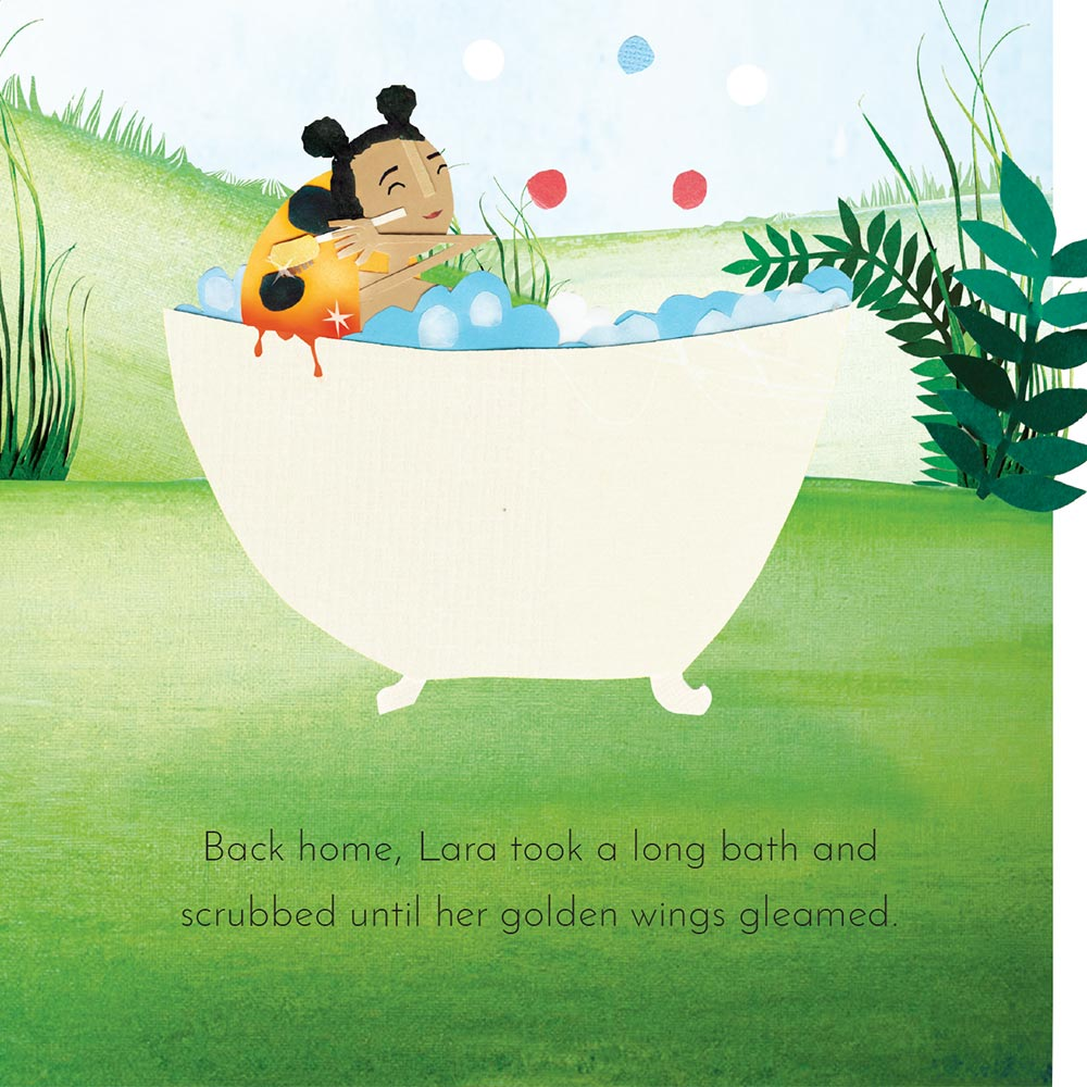 Free Kids Book Lara the Yellow Ladybird p22