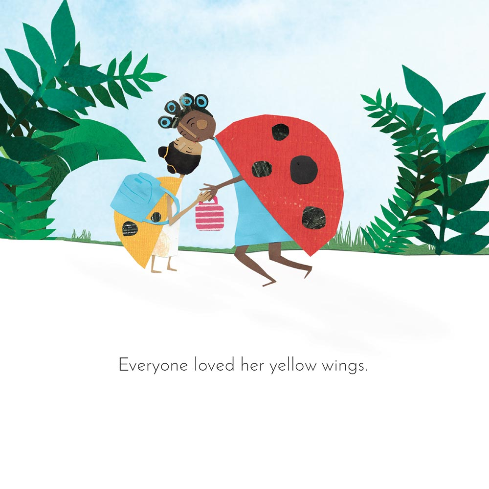 Free Kids Book Lara the Yellow Ladybird p4