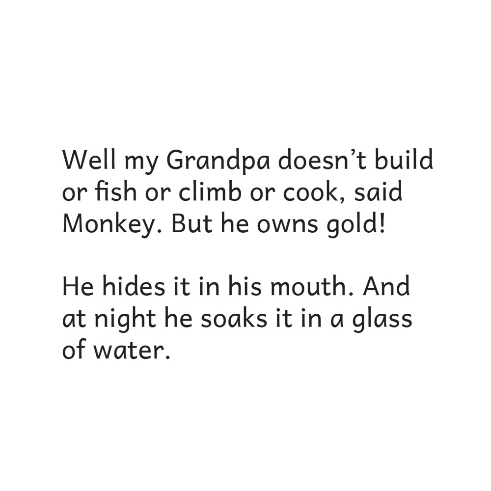 Bedtime stories Grandpas Gold free picture book page 12