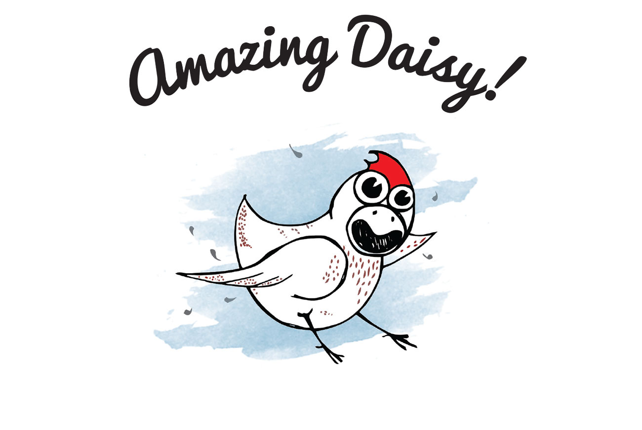 Free Children's Picture Book Amazing Daisy page 1