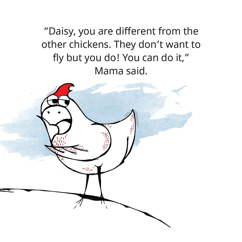 Free Children's Picture Book Amazing Daisy page 15