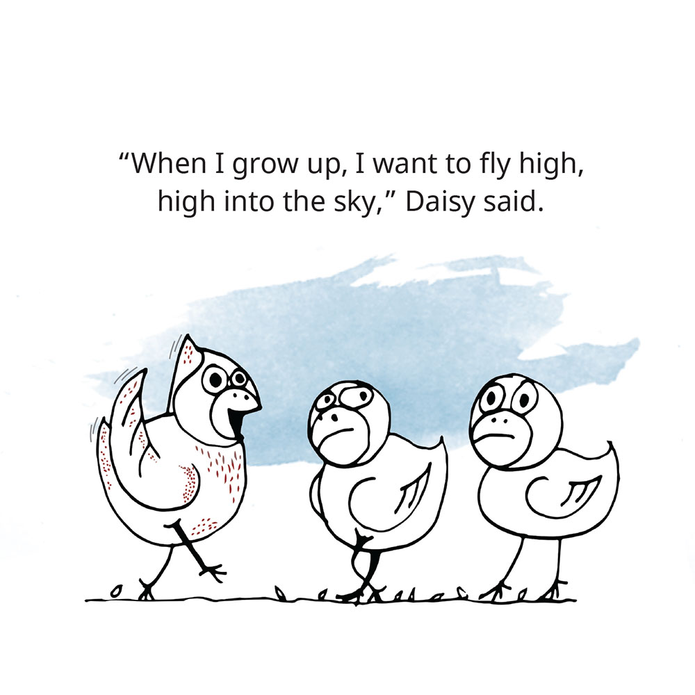 Free Children's Picture Book Amazing Daisy page 4