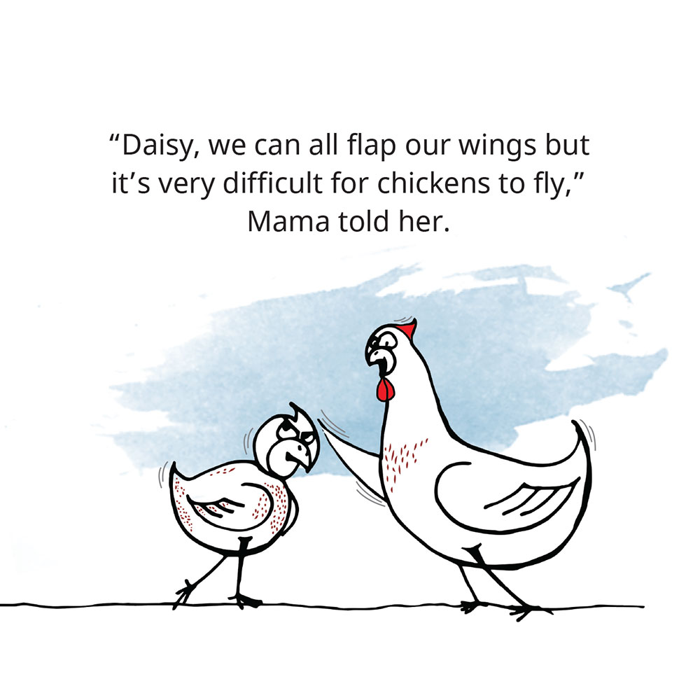 Free Children's Picture Book Amazing Daisy page 7