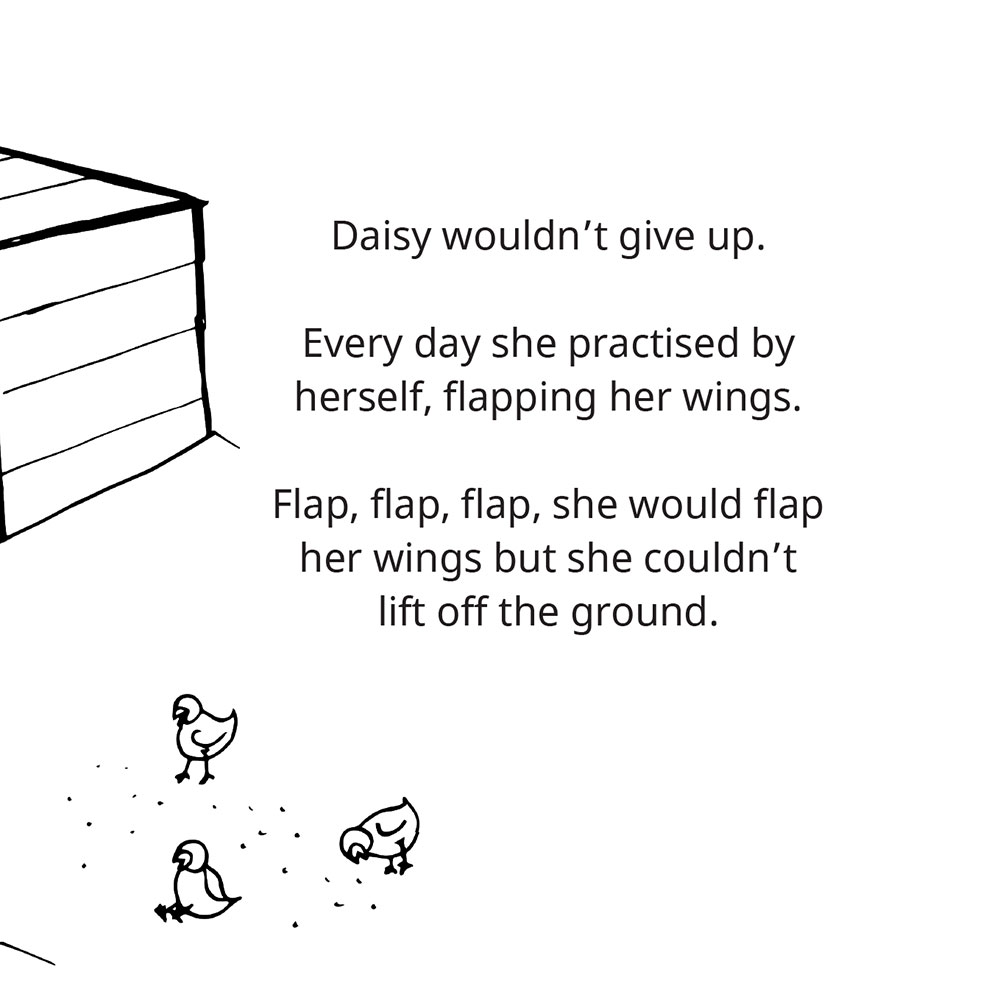 Free Children's Picture Book Amazing Daisy page 9