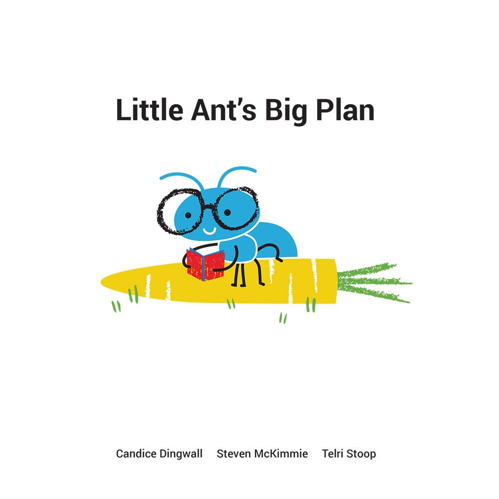 Bedtime stories for babies 'Little Ants Big Plan' page 1