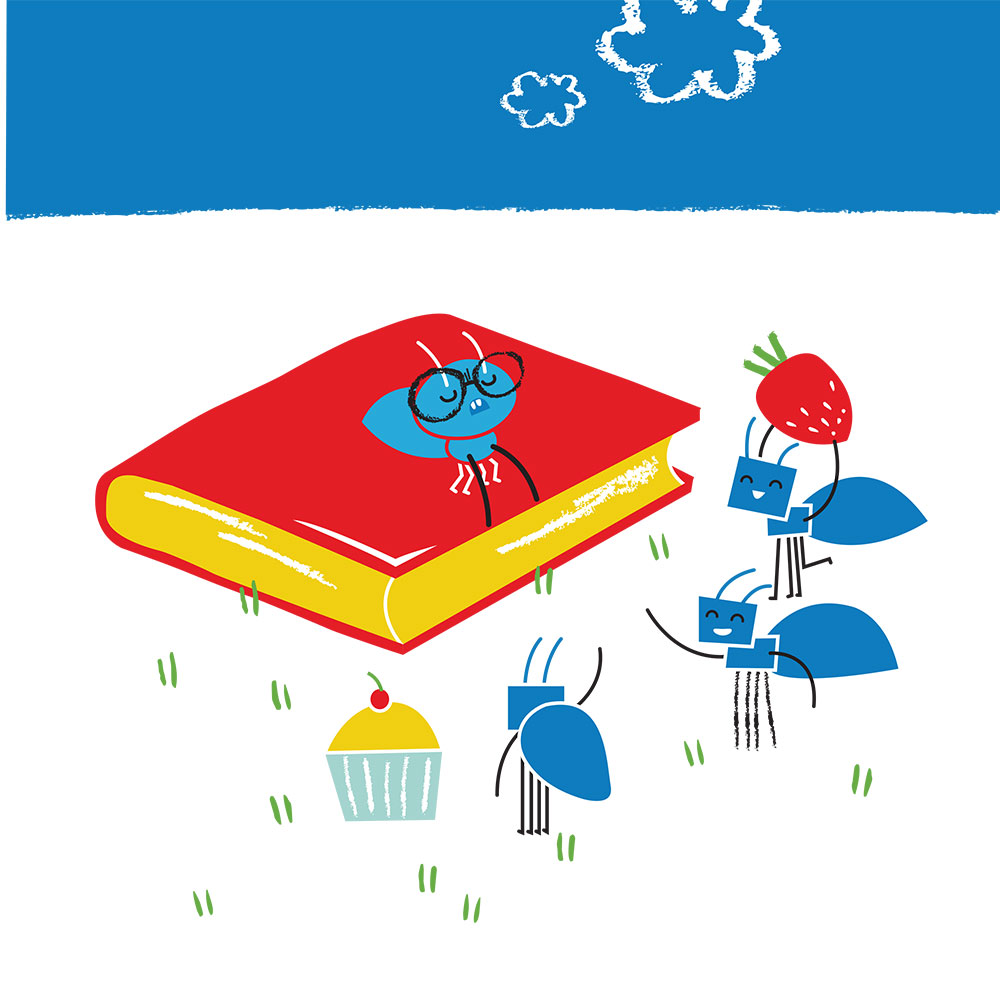 Bedtime stories for babies 'Little Ants Big Plan' page 3