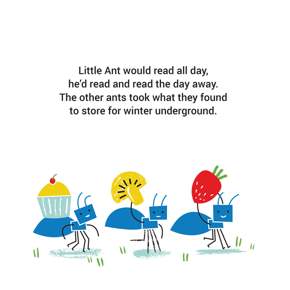 Bedtime stories for babies 'Little Ants Big Plan' page 5