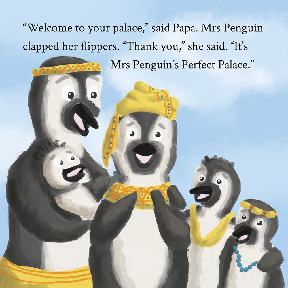 Bedtime stories Mrs Penguins Perfect Palace page 25