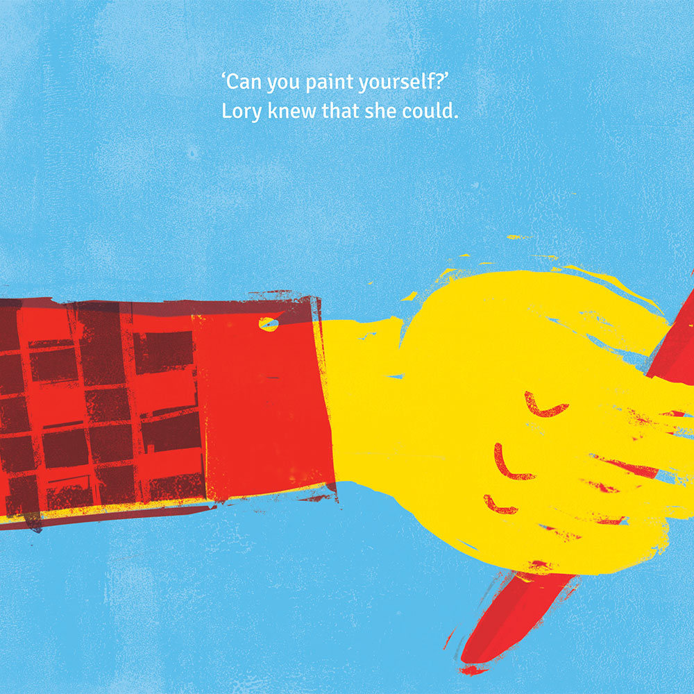 Short story for kids - free picture book - Lory Dory page 13
