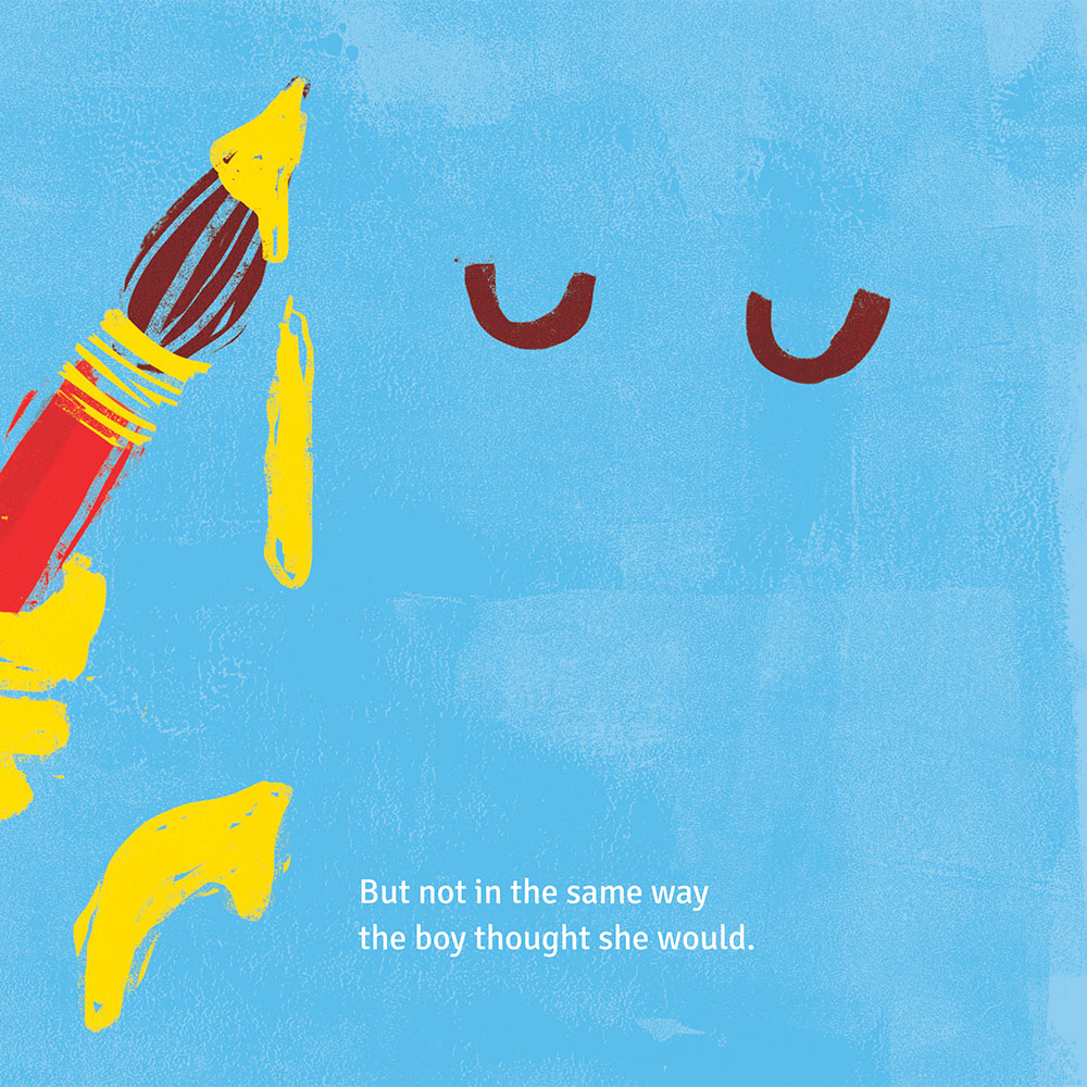 Short story for kids - free picture book - Lory Dory page 14
