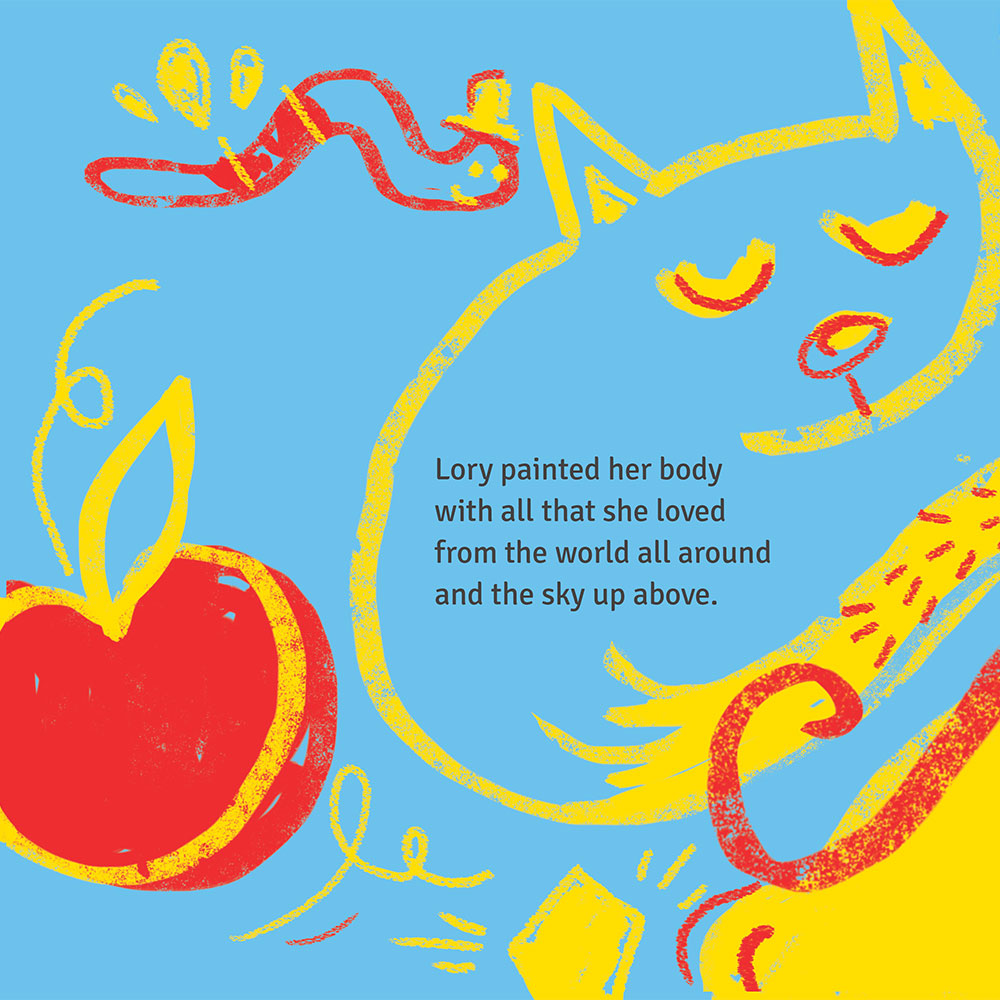 Short story for kids - free picture book - Lory Dory page 15