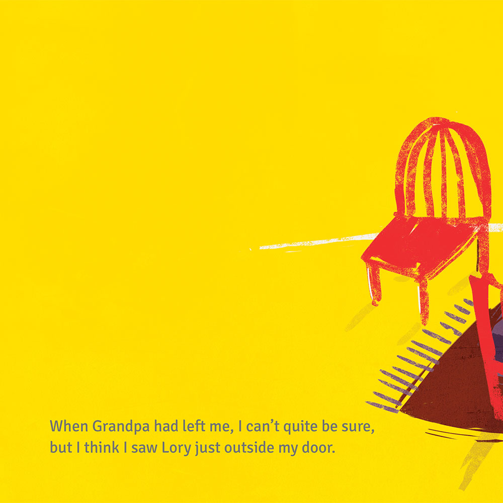 Short story for kids - free picture book - Lory Dory page 23