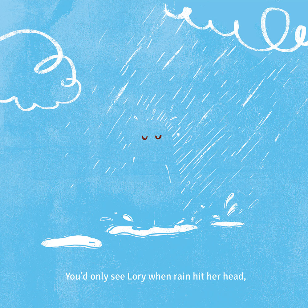 Short story for kids - free picture book - Lory Dory page 7