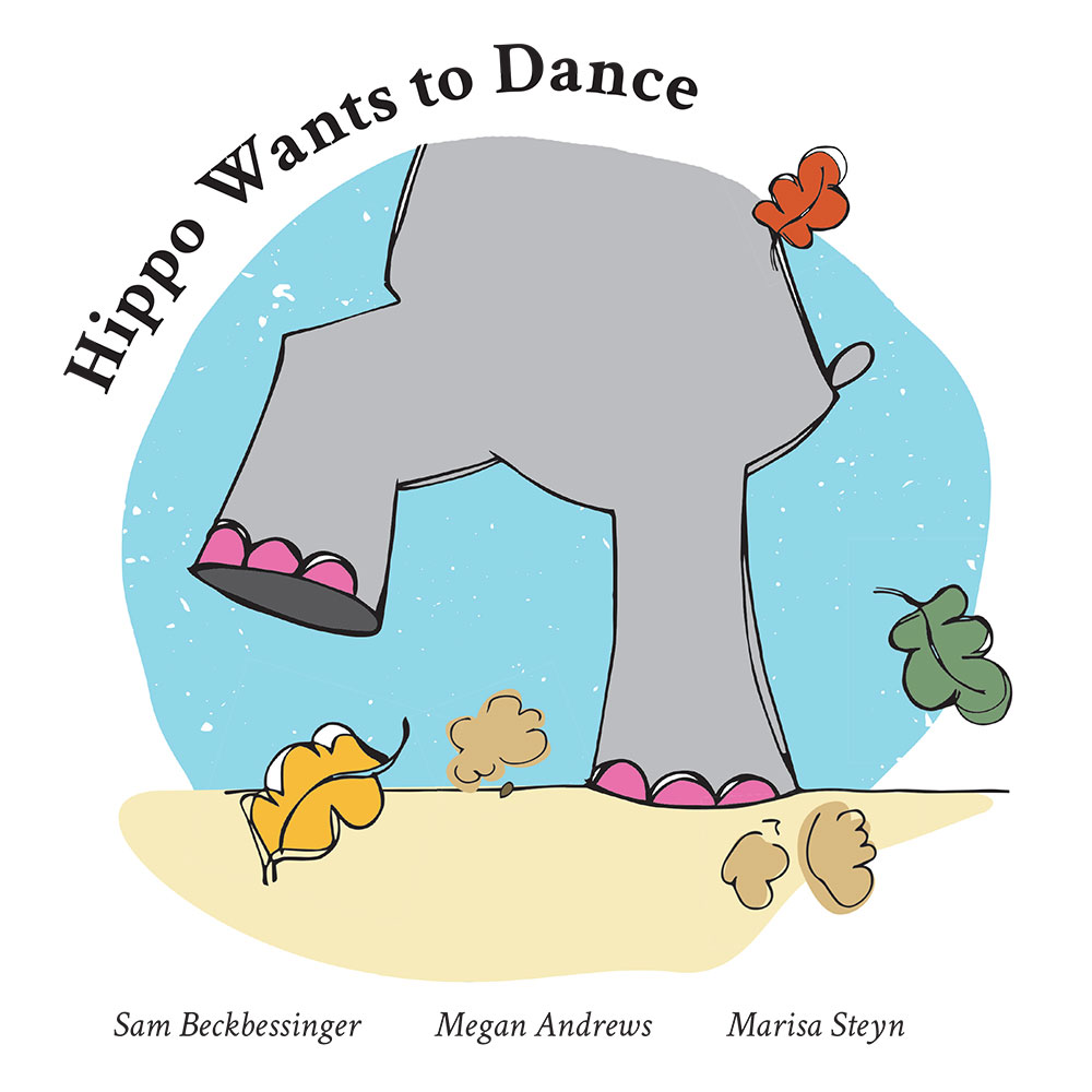 Bedtime stories for babies 'Hippo Wants to Dance' page 1