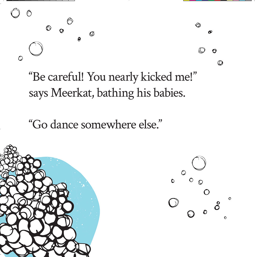 Bedtime stories for babies 'Hippo Wants to Dance' page 12