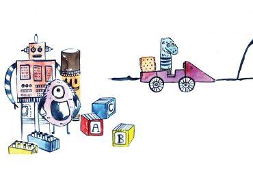 Free Kids Story Little Sock - Cover Illustration