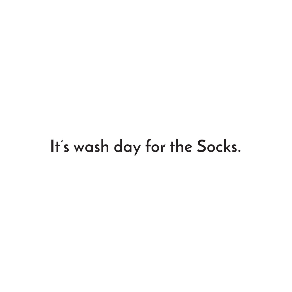 Free children's story picture book - Little Sock page 3