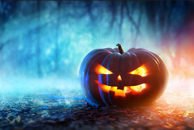 Illustration of jack o lantern for A Scary Creepy Halloween Story