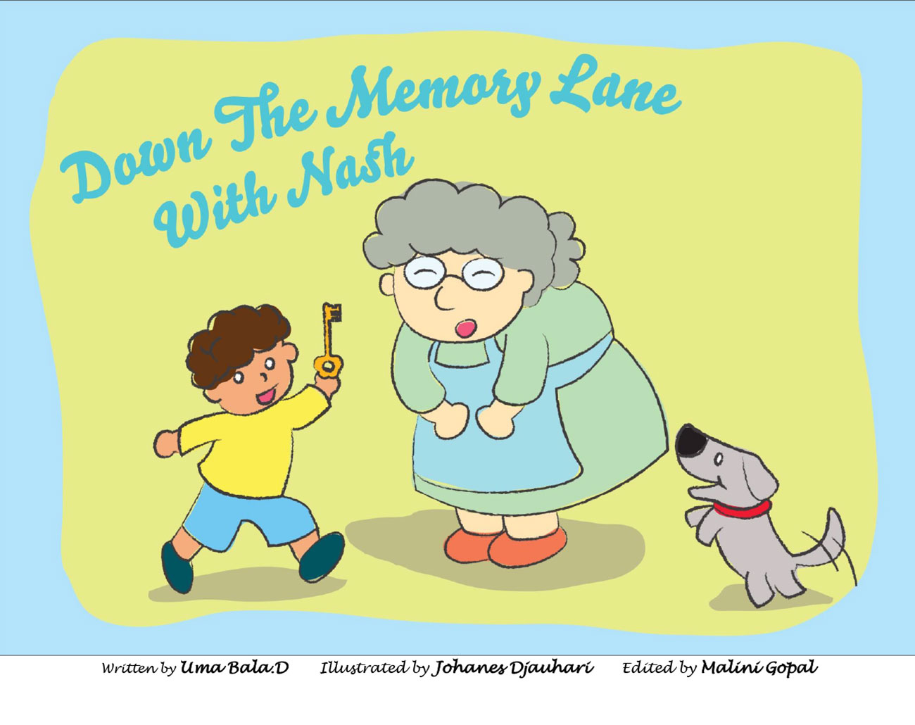 kids short story 'Down the memory lane with nash' by uma bala devarakonda - page 1