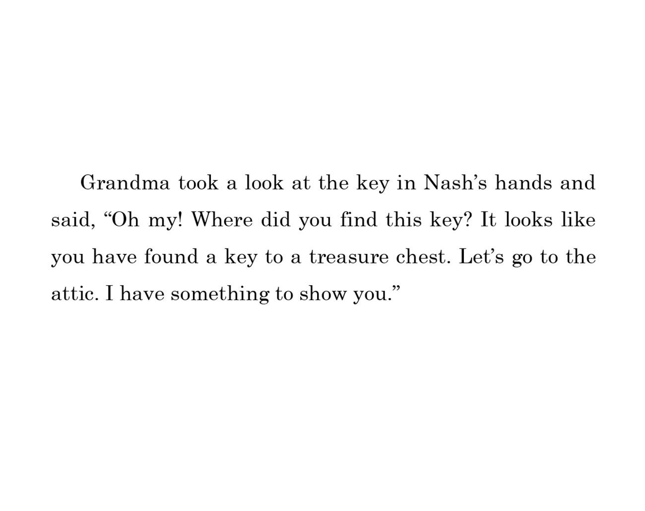 kids short story 'Down the memory lane with nash' by uma bala devarakonda - page 8