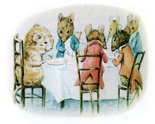 Bedtime stories Beatrix Potter Johnny Townmouse page 8