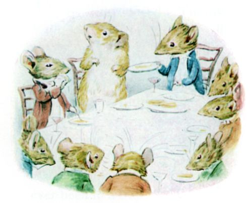 Bedtime stories Beatrix Potter Johnny Townmouse page 9