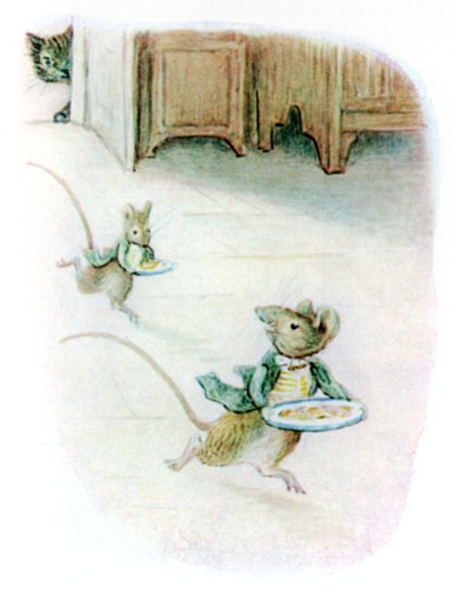 Bedtime stories Beatrix Potter Johnny Townmouse page 10