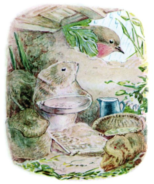 Bedtime stories Beatrix Potter Johnny Townmouse page 13