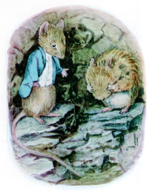 Bedtime stories Beatrix Potter Johnny Townmouse page 15