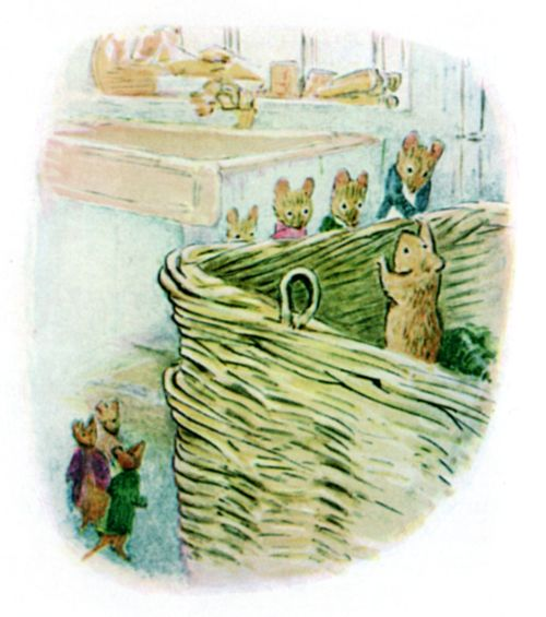 Bedtime stories Beatrix Potter Johnny Townmouse page 17