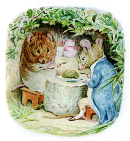 Bedtime stories Beatrix Potter Johnny Townmouse page 20
