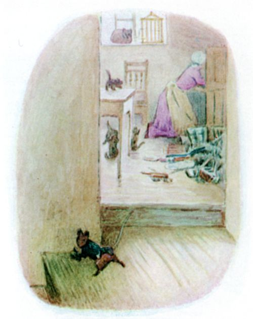 Bedtime stories Beatrix Potter Johnny Townmouse page 22