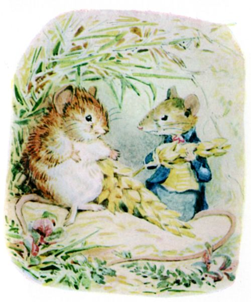 Bedtime stories Beatrix Potter Johnny Townmouse page 24
