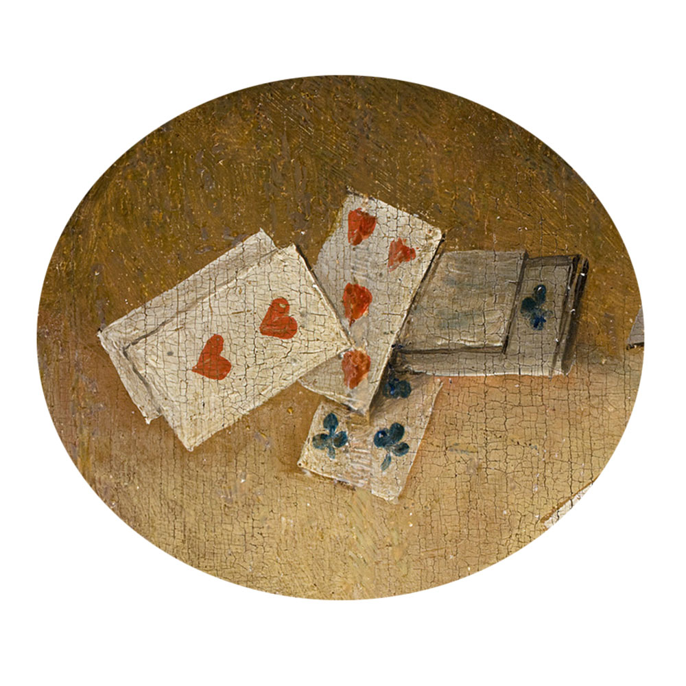 Children's search book - The Garden of Earthly Delights by Hieronymus Bosch - playing cards