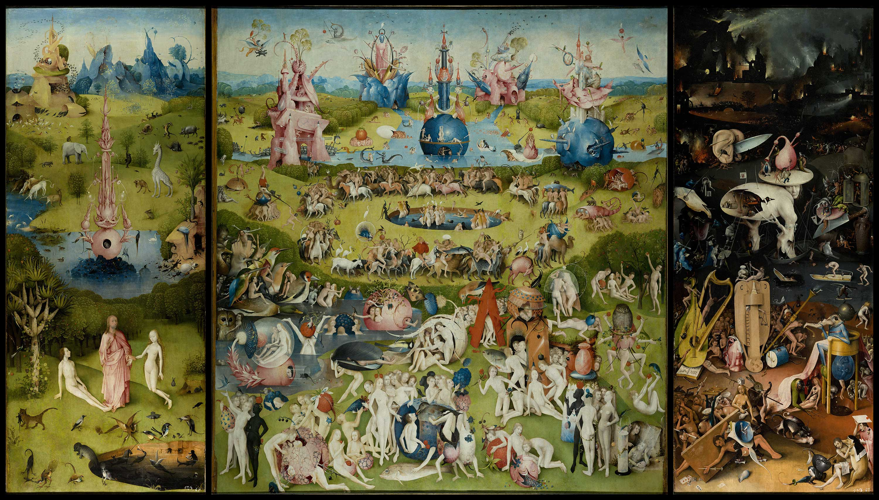 Children's search book - The Garden of Earthly Delights by Hieronymus Bosch