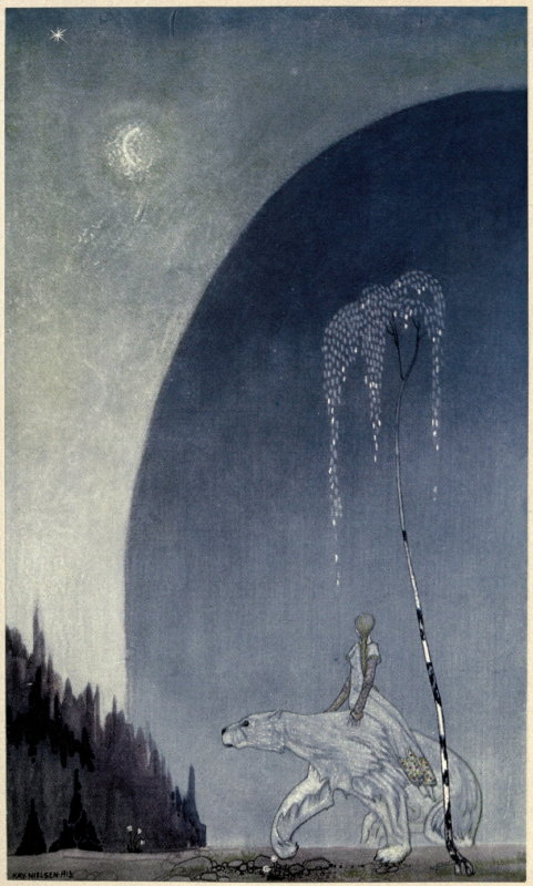 East of the Sun West of the Moon illustration by Kay Nielsen 1