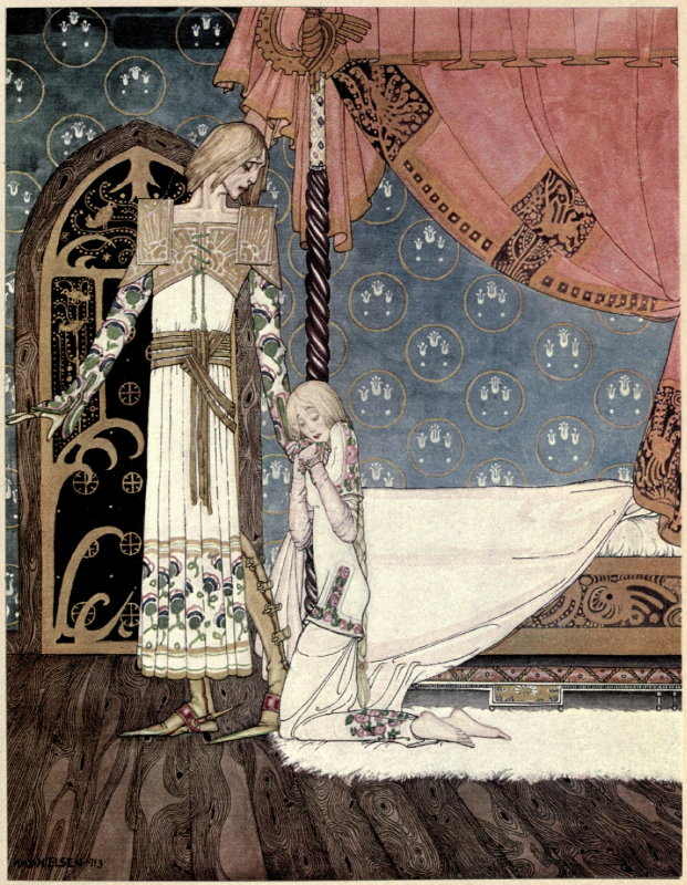 East of the Sun West of the Moon illustration by Kay Nielsen 3