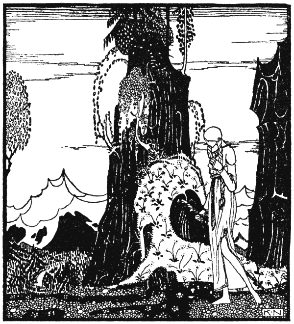 East of the Sun West of the Moon illustration by Kay Nielsen 5