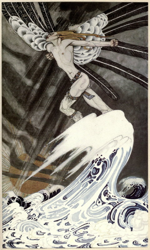 East of the Sun West of the Moon illustration by Kay Nielsen 6
