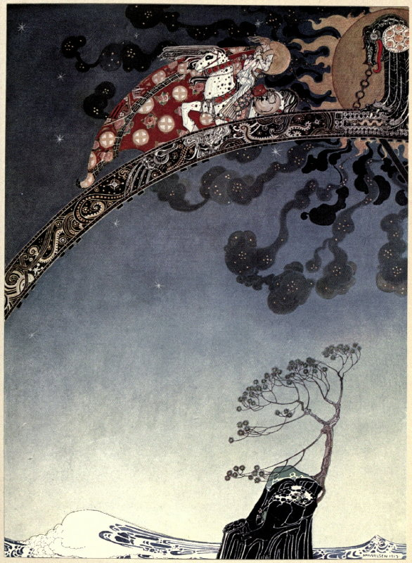 East of the Sun West of the Moon illustration by Kay Nielsen 7